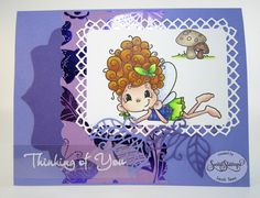Daydream Fairy for Sweet Stamps LLC, January 2016, created by Leah Tees, http://odetopaper.blogspot.ca