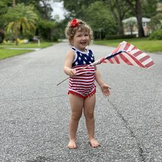Adorable patriotic rompers! Cute Outfits For Kids, Our Kids, Kids Wear, 12 Months, Bikinis, Swimwear, Kids Fashion, Rompers, How To Wear