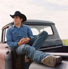 Cowboy - - - Jake in Brokeback Mountain