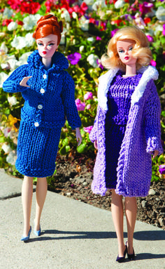 inspired Barbie patterns Jana I would love to buy some barbie clothes that are crocheted! Barbie Knitting Patterns, Barbie Clothes Patterns, Crochet Barbie Clothes, Doll Patterns, Clothing Patterns, Skirt Patterns, Sewing Patterns, Barbie Et Ken, Barbie Doll House