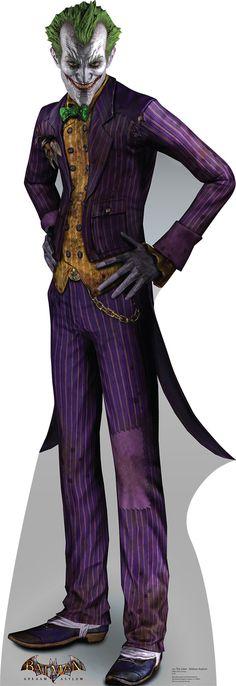 The Joker - Arkham Asylum Game Cardboard Standup