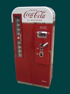 Antique vending machine.