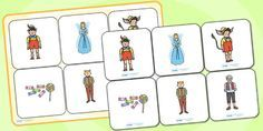Pinocchio Matching Cards and Board - pinocchio, pinocchio picture matching game…