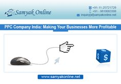 Samyak Online is top IT company that provides PPC advertising services. PPC stands for pay-per-click, means you have to pay some amount for every single click on your ad and it is the quickest way to get your website to the top of search results.