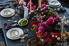 Superb table decoration // Изключителна декорация за маса