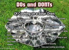 With a little practice, cooking on a solar oven is a piece of cake. These 7…
