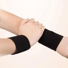 """Smooth"" Wrist Wrap with Magnet & Tourmaline Beauty Care, High Socks, Smooth, Health, Products, Fashion, Moda, Thigh High Socks, Health Care"