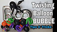 Twisting 260 Balloon Bubbles / DIY / How to make bubbles from balloons /... Bubble Diy, How To Make Bubbles, Twisting Balloons, Halloween Balloons, Personalized Items