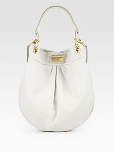 Keep seeing every girl with this bag- Want in black...Marc by Marc Jacobs Classic Q Hillier Hobo
