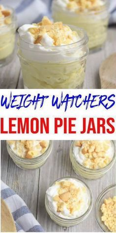 Here is a quick and easy homemade lemon Weight Watchers dessert recipe. You can mix up this Weight Watcher recipe in under 10 minutes. WW Lemon Idea – Quick & Easy Weight Watchers Diet Recipe – Lemon Pie I Weight Watcher Desserts, Weight Watchers Snacks, Petit Déjeuner Weight Watcher, Plats Weight Watchers, Weight Watchers Breakfast, Weight Watcher Overnight Oats, Weight Watchers Fluff Recipe, Weight Watcher Points, Weight Watchers Puddings