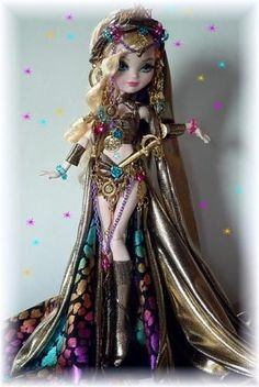 EXOTIC n SWEET***CUSTOM EVER AFTER APPLE HIGH/Monster high doll** by …