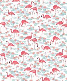 Vintage Flamingos / natalieryan.prosi...