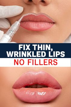 Beauty Industry Experts Agree This is a Great Solution for Younger, Plumper Looking Lips! Beauty Care, Beauty Skin, Hair Beauty, City Lips, Moisturizer For Sensitive Skin, Lip Wrinkles, Thin Lips, Lip Hydration, Lip Fillers