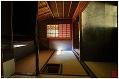 Inside a Japanese tea room (Koto-in 高桐院)