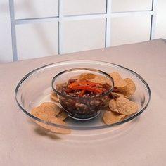 Grainware...lightweight 2 piece chip & dip