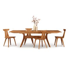 Audrey Extendable Dining Table | Wayfair. Made by Copeland Furniture, Branford, VT.