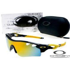 7a8b744600c  13 - Cheap oakley free shipping radarlock path sunglasses polished black   fire  iridium Summer Sunglasses