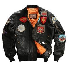 Genuine Sheepskin Aviator Jacket