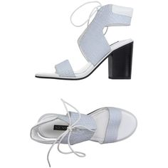 Senso Sandals (9.640 RUB) ❤ liked on Polyvore featuring shoes, sandals, light grey, leather shoes, round cap, python print shoes, senso shoes and snake skin shoes