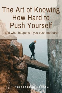 Art of Knowing How Hard to Push Yourself It is important to push myself so I can gain back some strength and energy.It is important to push myself so I can gain back some strength and energy. Chronic Fatigue Syndrome, Chronic Illness, Chronic Pain, Fibromyalgia, Mind Reading Tricks, What Happens If You, Thing 1, Health Advice, Health Blogs