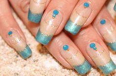 Double French #nail #nails #nailart