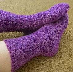 New sock pattern from Very Busy Monkey on Raverly...very Springy