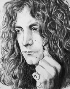 Awesome Robert Plant artwork