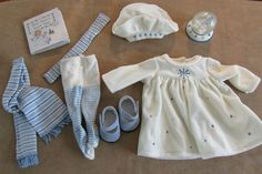 Bitty Baby Winter Wonderland complete outfit dress clothes American Girl Doll #PleasantCompany #ClothingShoes