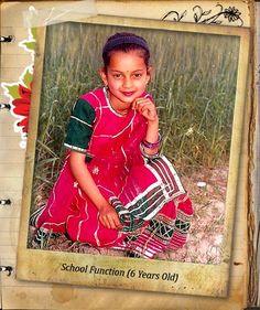 kangana ranaut childhood photos, Bollywood Celebs, Childhood Stars, Unseen childhood pictures, Rare Pics Of Bollywood Celebrities