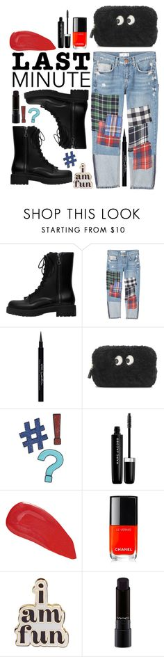 """Last Minute"" by lotussss ❤ liked on Polyvore featuring MANGO, Givenchy, Anya Hindmarch, Design Lab, Marc Jacobs, Christian Louboutin, Chanel, ban.do, MAC Cosmetics and LastMinute"