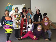 Alice in wonderland group costume  sc 1 st  Pinterest & Homemade Costumes for Families   Homemade costumes Costumes and ...