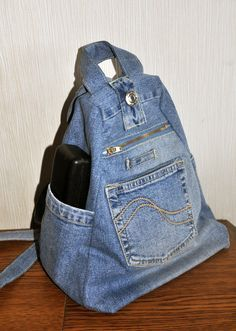 Terrific Pics Blue denim backpack Thoughts I enjoy Jeans ! And even more I like to sew my own, persona Terrific Pics Blue denim backpack Thoughts I enjoy Jeans ! And even more I like to sew my own, personal Jeans. Next Jeans Sew Along I am goin Denim Handbags, Denim Tote Bags, Denim Purse, Artisanats Denim, Blue Denim, Denim Skirt, Mochila Jeans, Jean Diy, Jean Backpack