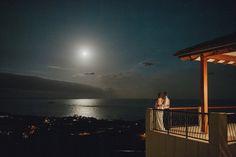 Moonlight wedding photo: Shelly & Craig – Villa Vivante, Coffs Harbour » Coffs Harbour Wedding Photographer | David Moore