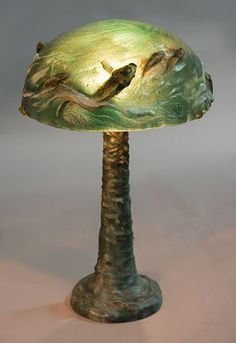 Pate De Verre Fish Lamp...I cannot even come close to saying how much I love this!
