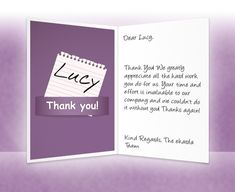 Pin By Anggunstore On Thank You Cards    Note