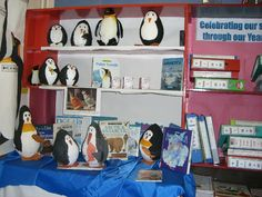 Homemade Penguins classroom display photo - Photo gallery - SparkleBox