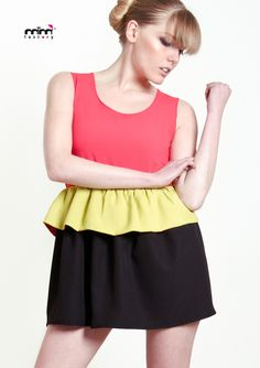 Fluocolor dress