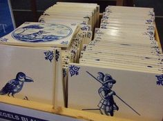Delft tiles, from the Netherlands