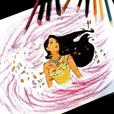 """Disney Through The Ages: Day 160: """"Listen with your heart. You will understand..."""" #Pocahontas"""