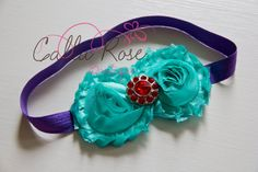 The Little Mermaid Inspired Ariel Shabby Chic by CallaRoseBoutique, $8.00