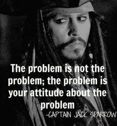 Jack Sparrow Citation problème Pirate Anniversaire Cadeau Café Thé Tasse Bureau Drôle
