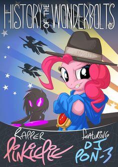 Rapper Pinkie by mysticalpha on deviantART