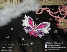 Handmade Butterfly Brooch Lovely handmade brooch from Delhusna Handmade We ship world wide Price : IDR 165.000/pc From Pekanbaru Indonesia