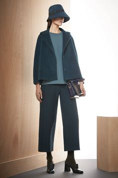 Max Mara (Ian Griffiths) | Pre-Fall 2014 Collection | Referenced Lee Miller and her workwear attire as a war correspondent. Designed to be 'functional, but at the same time desirable'.