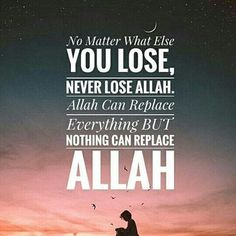 Always put Allah first you can please most of the people most of the time, but you can't please all the people all of the time, so concentrate on pleasing your maker because that's what really counts.