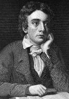 """John Keats  """"How strange it is that man on earth should roam,  And lead a life of woe, but not forsake  His rugged path; nor dare he view alone  His future doom which is but to awake. """""""
