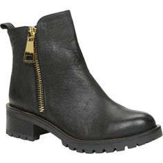 ALDO Miroasa Boots (€67) ❤ liked on Polyvore featuring shoes, boots, ankle booties, ankle boots, black, black boots, black ankle bootie, short rubber boots, black rubber boots and black bootie