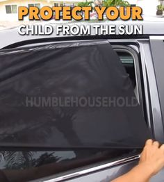 Window Shades As a parent, your number one job is to care for your children. These sun shades do just that! Rigorously tested with a CE testing certification, These window shades block out UV rays, greatly decreasing sun damage on your baby or c Jeep Gifts, Pt Cruiser, Car Cleaning Hacks, Van Living, Trucks And Girls, Car Gadgets, Camping Ideas, Suv Camping, Camping Hacks