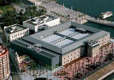 Offices adjoining the Polytechnic University of Cartagena, Cartagena (Spain) by José Manuel Chacón Bulnes  #Carthagena #Spain #España #facade #perforation #zinc #VMZINC #architecture