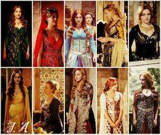 Suleiman -Meryem Uzerli, actriz que interpreto a la sultana Hurrem (2014.05.07) después que dejo la serie Suleiman y se fue a vivir a Berlín, Alemania